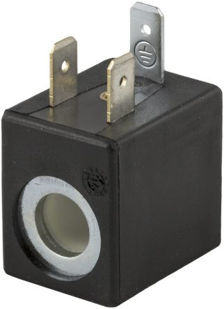 12V dc 3W Replacement Solenoid Coil, Compatible With 01V Series Valve product photo