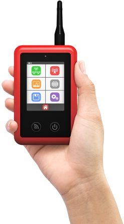 CSL CS2389 Handheld Signal Analyser for 2G, 3G, 4G, GSM Networks