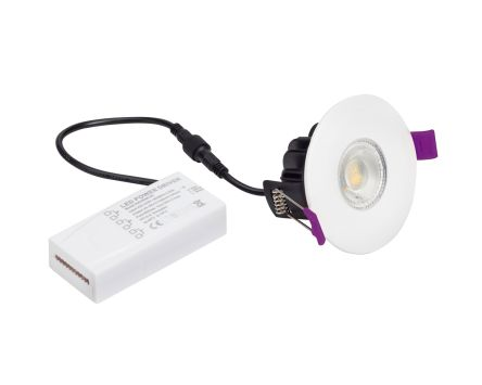 6W LED Integrated Downlight - warm white