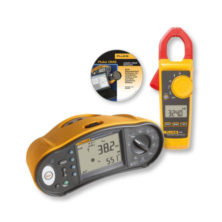 Fluke 1663 Electrical Tester 50 V, 100 V, 250 V, 500 V, 1000 V , Earth Resistance Measurement With USB