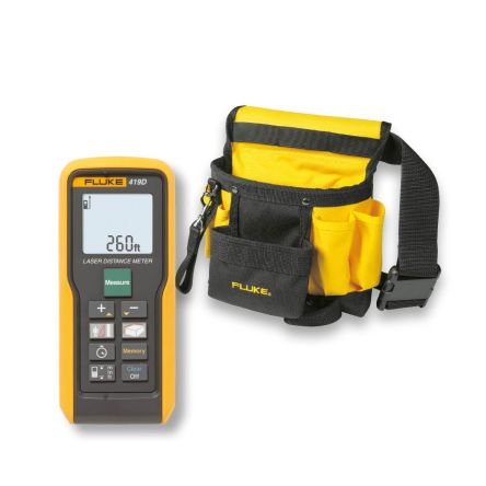 Fluke Fluke 419D Distance Meter, 80 m Range, ±2 mm Accuracy