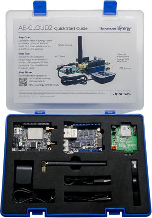 Renesas Electronics Synergy AE-CLOUD2 4G/LTE IoT Cellular MCU Development Kit YSAECLOUD2