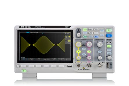 Teledyne LeCroy T3DSO1000 Series T3DSO1102 Oscilloscope, Digital Storage, 2 Channels, 100MHz
