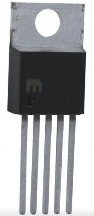 Microchip, LM2576-12WT Adjustable Switching Regulator, 1-Channel 3A 5-Pin, TO-220