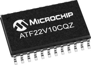 Microchip Technology ATF22V10CQZ-20XU, SPLD Simple Programmable Logic Device ATF22V10CQZ 10 Macro Cells, 22 I/O, ISP,