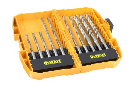 DeWALT Masonry Twist Drill Bit Set, 5mm to 12mm