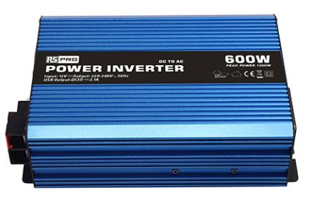 600W Fixed Installation DC-AC Power Inverter, 12V / 230V | RS Components