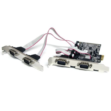 4 Port Native PCI Express RS232 Serial A
