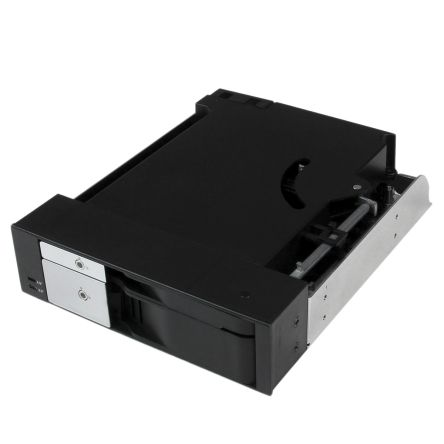 """Dual Bay 5.25"""" Trayless Hot Swap Mobile product photo"""