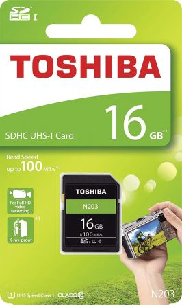 Toshiba 16GB N203 Class 10 SD Card