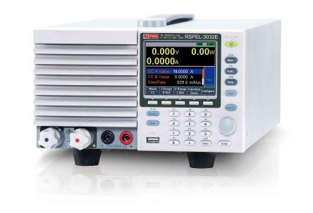 RS PRO Electronic DC Load 0  15 A, 0  15.3 A 0  510 V, 2.5  500 V 0  300 W, 0