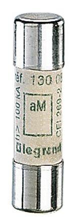 Legrand, 1A Ceramic Cartridge Fuses, 10 x 38mm