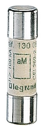 Legrand, 16A Ceramic Cartridge Fuse, 10 x 38mm