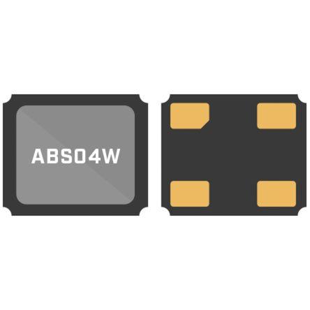 Abracon 32.76kHz Crystal Unit ±10ppm SMD 4-Pin 1.2 x 1 x 0.33mm