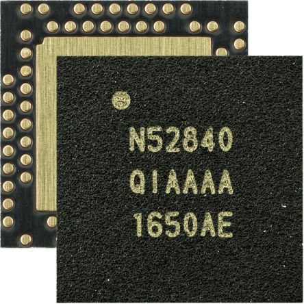Nordic Semiconductor NRF52840-QIAA-R, RF Transceiver 2.4GHz 73-Pin QFN