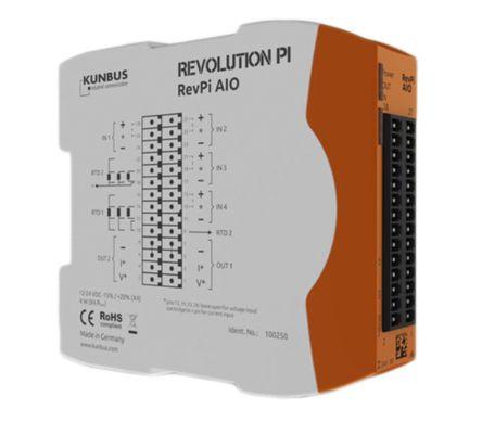 Kunbus REVOLUTION PI PLC I/O Module - 6 Inputs