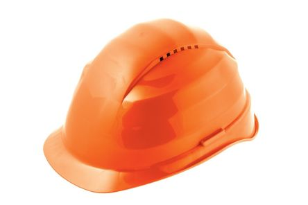 Alpha Solway Rockman Orange Hard Hats, Ventilated