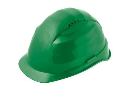 Alpha Solway Rockman Green Hard Hats, Ventilated