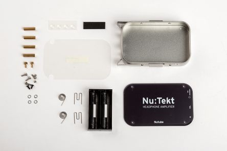 Tinplate Case of Nutube Headphone Amplif