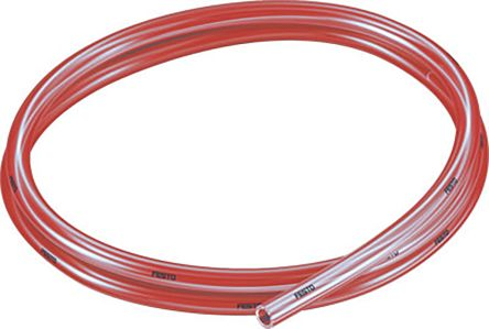 Festo Air Hose Red Polyurethane 8mm x 50m PUN-H-T Series