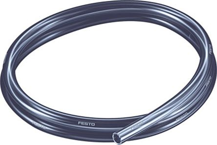 Festo Air Hose Black Polyurethane 10mm x 50m PUN-H-T Series
