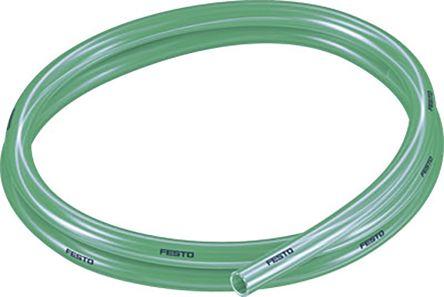 Festo Air Hose Green Polyurethane 10mm x 50m PUN-H-T Series