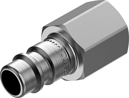 Festo Pneumatic Quick Connect Coupling 1/4in Threaded