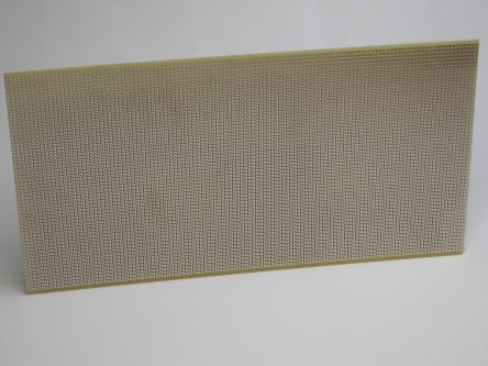 ACP22, Single Sided Matrix Board With 1mm Holes 2.54mm Pitch, 100 x 220mm