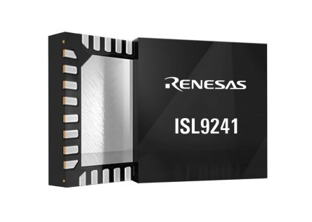 Renesas Electronics ISL9241HRTZ-T7A, Lithium-Ion, Battery Charge Controller IC 32-Pin, TQFN