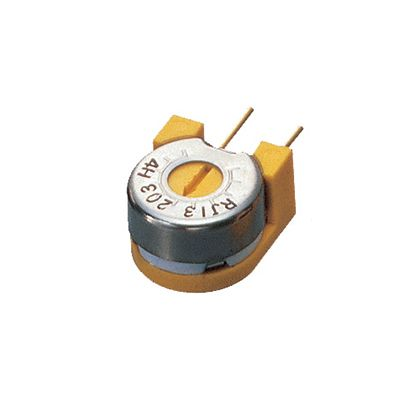 100kΩ Through Hole Trimmer Potentiometer 0.75W Side Adjust Copal Electronics RJ-13 Series
