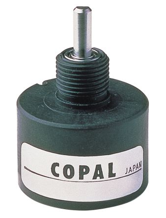 Copal Electronics 12V dc Optical Encoder with a 3 mm Flat Shaft, Wire Lead