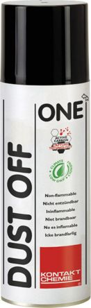 CRC 33157 Invertible Dust Off One Air Duster, 75 g, Flammable