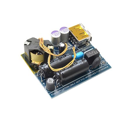 STMicroelectronics, 15 W 5 V Output USB Adapter Evaluation Board Evaluation Board for STCH03 - STEVAL-SMACH15V1