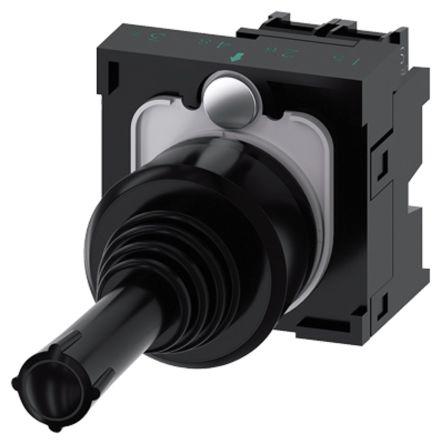 Siemens, 3SU1100-7AB10-1NA0, Joystick Switch Round, 5 <arrow/> 500V ac/dc