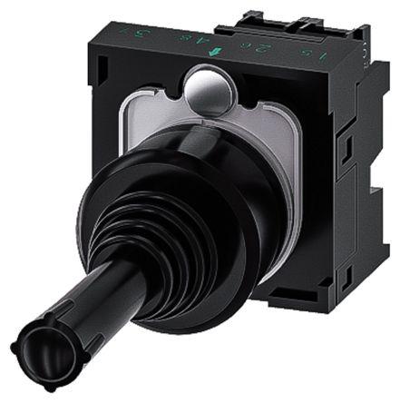 Siemens, 3SU1100-7AD10-1NA0, Joystick Switch Round, 5 <arrow/> 500V ac/dc