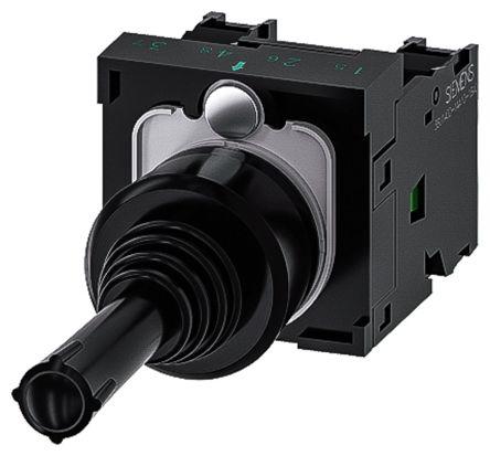 Siemens, 3SU1100-7AC10-1NA0, Joystick Switch Round, 5 <arrow/> 500V ac/dc