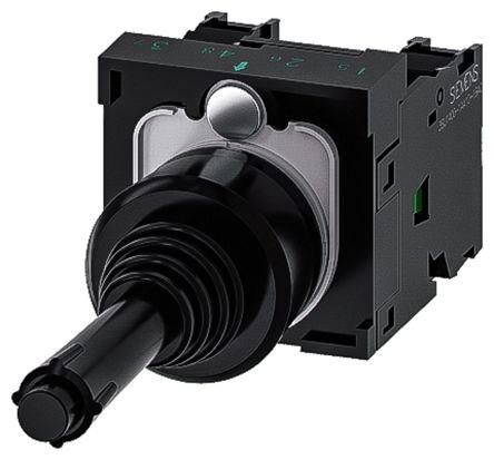 Siemens, 3SU1100-7BA10-1NA0, Joystick Switch Round, 5 <arrow/> 500V ac/dc