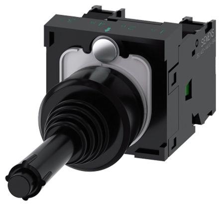 Siemens, 3SU1100-7BB10-1NA0, Joystick Switch Round, 5 <arrow/> 500V ac/dc