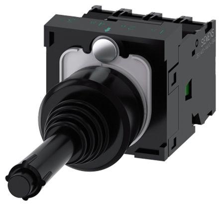 Siemens, 3SU1100-7BF10-1QA0, Joystick Switch Round, 5 <arrow/> 500V ac/dc