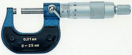 Spindle lock Micrometer 0-25mm