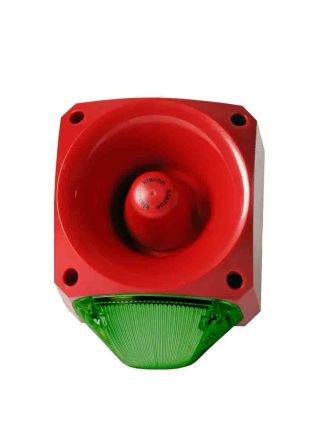 Nexus 105 Sounder/Beacon DC Green LED
