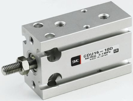 Pneumatic Multi-Mount Cylinder CUK Series, Double Action, Single Rod, 10mm Bore, 10mm stroke product photo