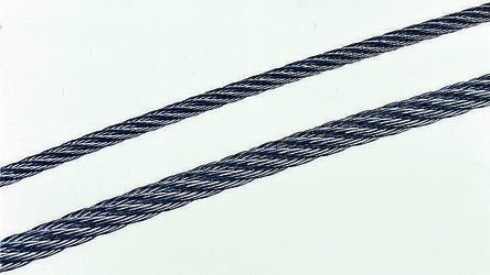 Qualitystainless steel wire rope,6mmx75m
