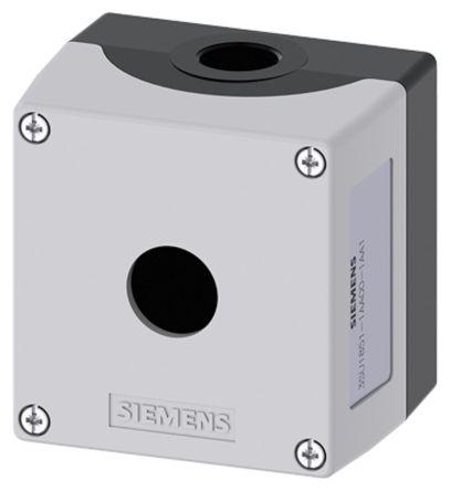 Siemens 3SU1851 Push Button Enclosure Grey Metal