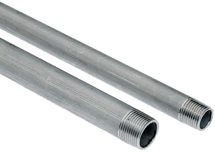 6 to 50 mm diameter PVC Rod in Grey 2 m long