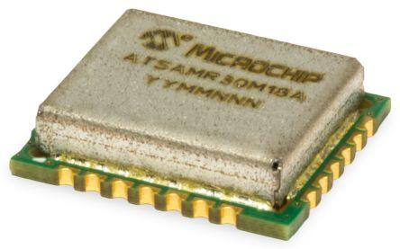 Microchip Technology ATSAMR30M18A-I/RM100 Module 1 GHz, 1.8 → 3.63V