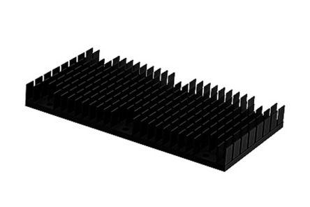 Heatsink, 1/1 Brick DC/DC Converter, 120 x 62 x 14mm