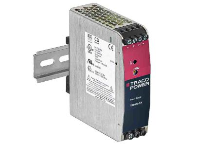 TRACOPOWER, TIB 080 DIN Rail Panel Mount Power Supply, 24V dc Output Voltage, 3.4A Output Current