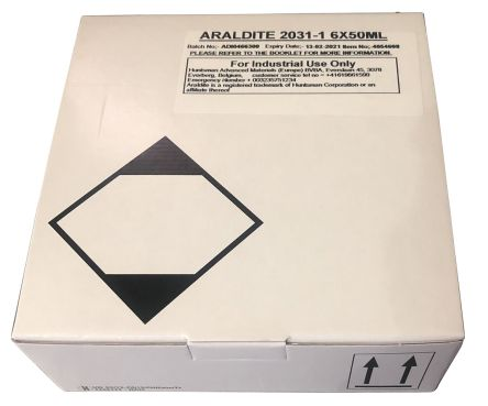 Araldite 2031-1 50 ml Black Epoxy Adhesive for