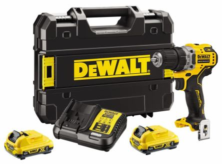 DeWALT XR Brushless Keyless 12V Cordless, UK Plug